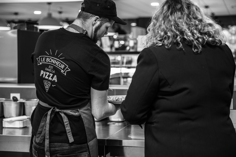 Restaurant franchise pizzeria La Pizza de Nico