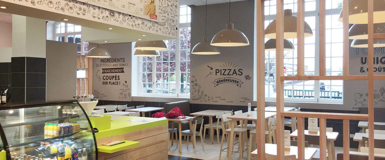 salle restaurant italien colmar la pizza de nico