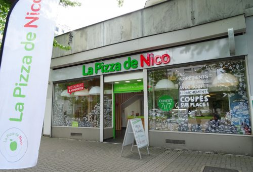 pizzeria strasbourg esplanade - La Pizza de nico exterieur