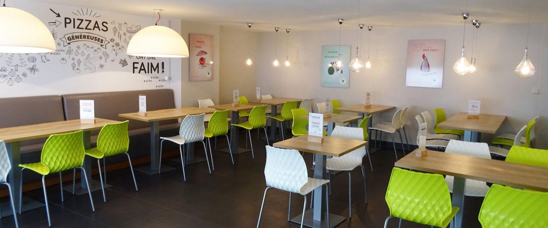 pizzeria strasbourg esplanade La Pizza de nico salle de restaraurant