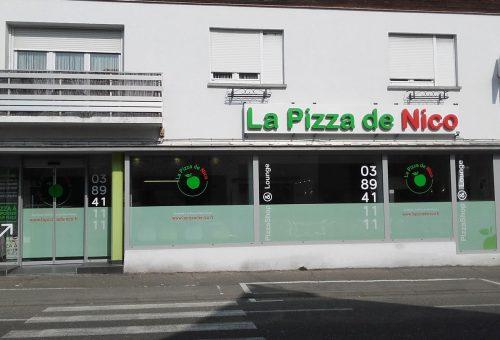restaurant horbourg wihr La Pizza de nico