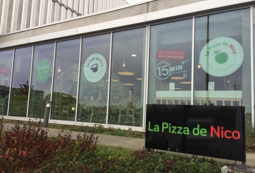 pizzeria saint herblain extérieur