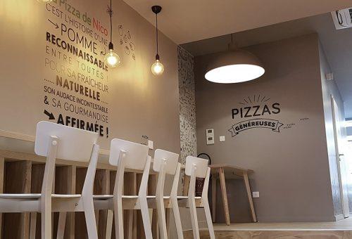ambiance pizzeria strasbourg La pizza de nico homme de fer