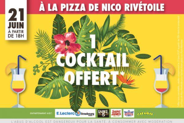 Fêtez l'arrivée de l'été à La Pizza de Nico Rivétoile