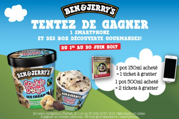Jeu Ben and Jerry's
