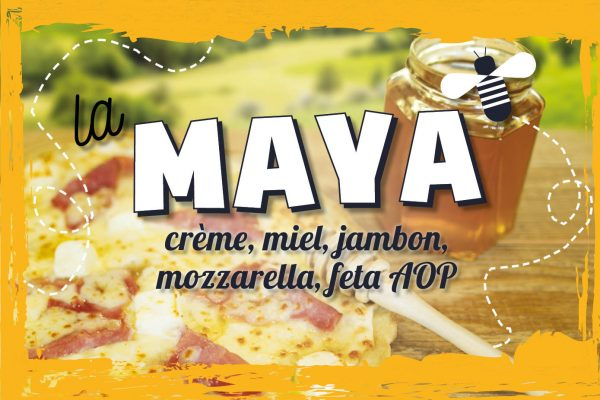 La suggestion du moment : pizza Maya