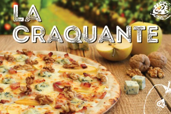 Pizza Craquante : pizza du moment