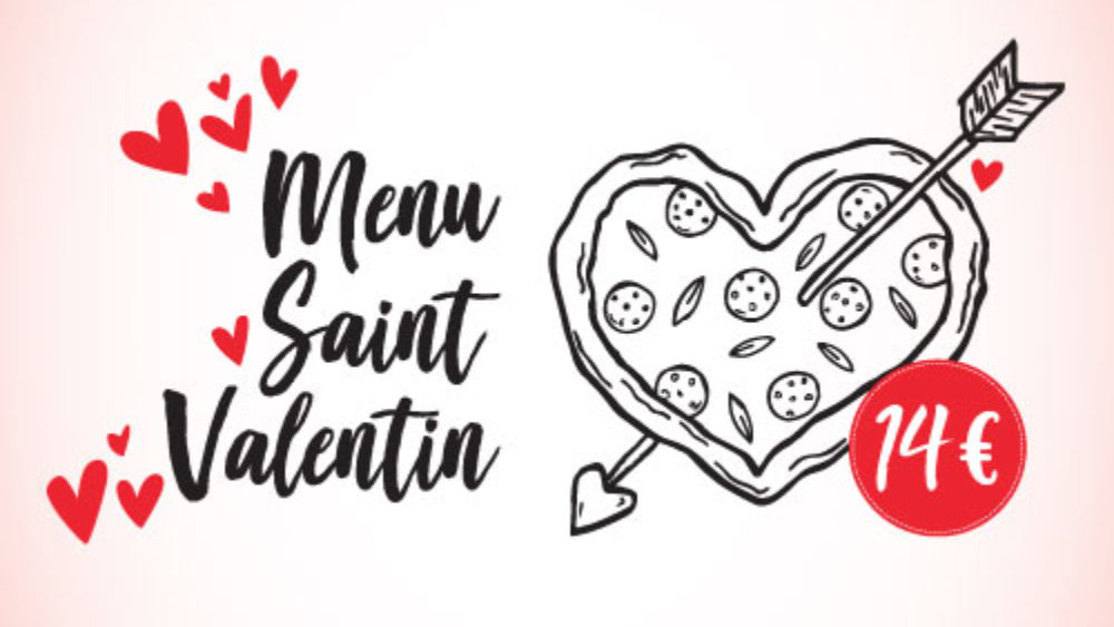 Menu saint valetin