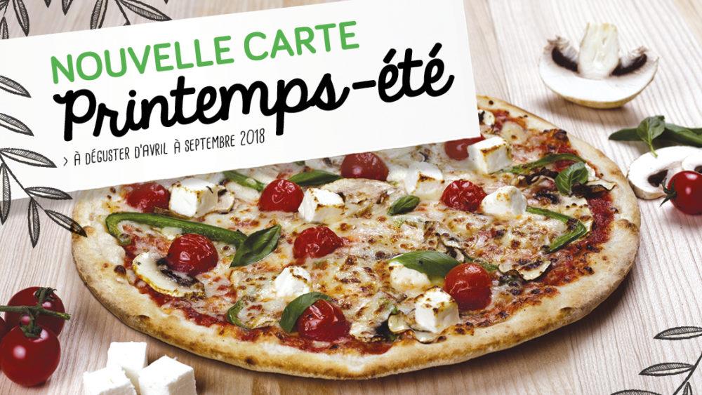 menu printemps été 2018