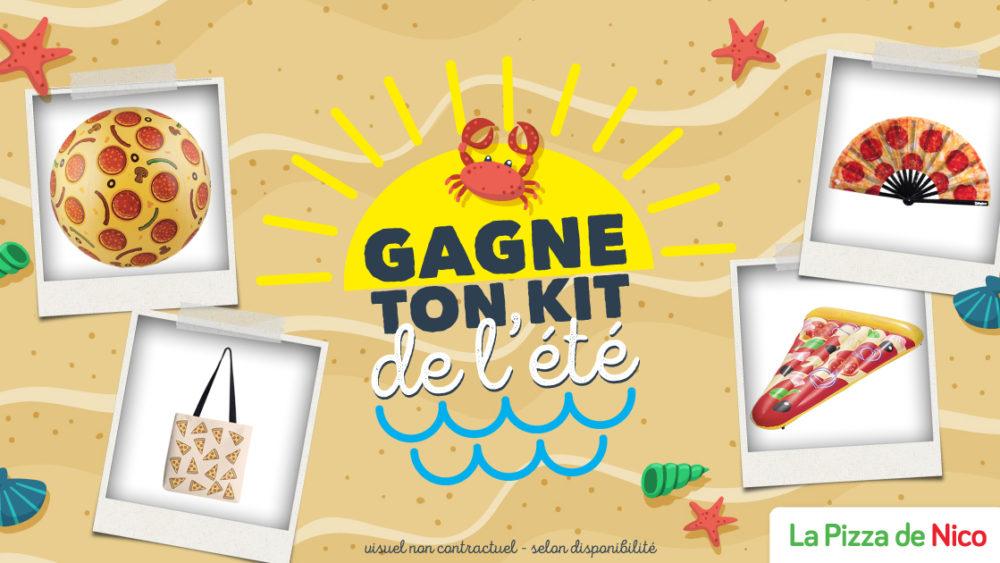 concours la pizza de nico kit de l'été