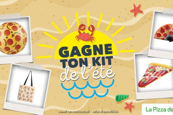 Gagne ton kit de l'été spécial plage !