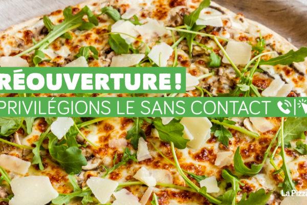 Offres pour la réouverture de nos restaurants !
