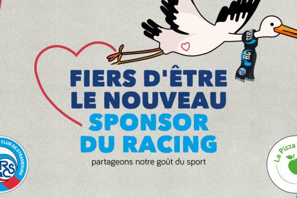 La Pizza de Nico nouveau sponsor du Racing Club de Strasbourg